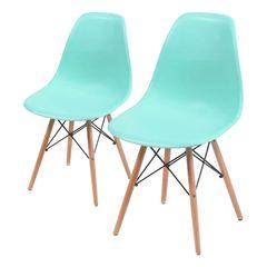 Conjunto-de-2-Cadeiras-de-Jantar-Eames-Wood-Verde-Tiffany-OR-Design-1102B