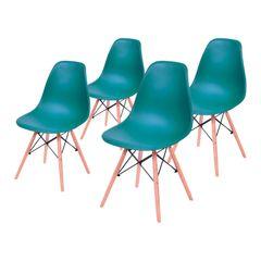 Conjunto-de-4-Cadeiras-de-Jantar-Eames-Wood-Azul-Petroleo-OR-Design-1102B