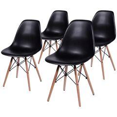 Conjunto-de-4-Cadeiras-de-Jantar-Eames-Wood-Preta-OR-Design-1102B