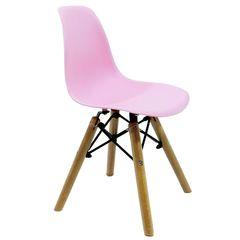 Cadeira-Infantil-DKR-Wood-Rosa-Claro-Byart