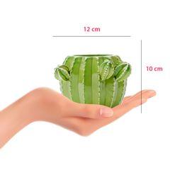 Vaso-de-Ceramica-Verde-10cm-Cactos-Prestige-dimensoes