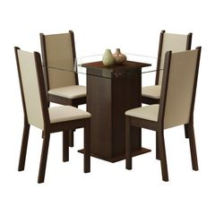 Conjunto-de-Mesa-com-Tampo-de-Vidro-e-4-Cadeiras-Tabaco-Crema-Aline-Madesa-076891-1.jpg