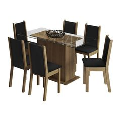 Conjunto-de-Mesa-com-Tampo-de-Vidro-e-6-Cadeiras-em-Courino-Preto-Aline-Madesa-076893-1.jpg