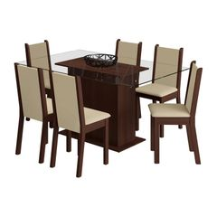 Conjunto-de-Mesa-com-Tampo-de-Vidro-e-6-Cadeiras-Tabaco-Crema-Aline-Madesa-076894-1.jpg
