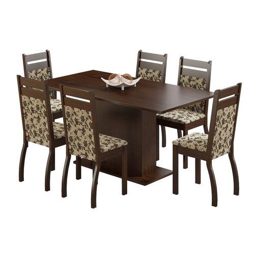 Conjunto-Mesa-de-Jantar-com-6-Cadeiras-Estofadas-Tabaco-Floral-Versalhes-Madesa-077022-1.jpg