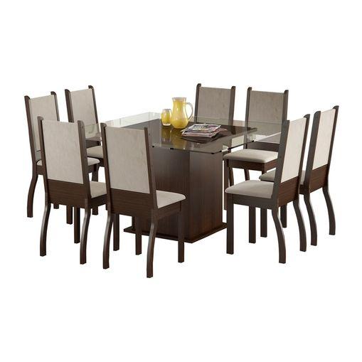 Conjunto-de-Mesa-com-Tampo-de-Vidro-e-8-Cadeiras-Tabaco-Perola-Vivian-Madesa-077027-1.jpg