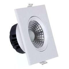 Spot-de-Embutir-LED-12W-3000K-Quadrado-COB-Startec
