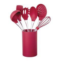 Kit-Utensilios-de-Silicone---Acrilico-7-Pecas-Vermelho-Euro-078378_P.jpg