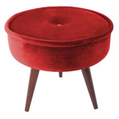 Puff-Vermelho-em-Veludo-45cm-com-Pes-de-Madeira-Mantis-079068.jpg