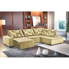 Sofa-Retratil-e-Reclinavel-5-Lugares-Bege-com-Chaise-Cleveland-1