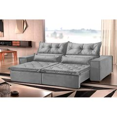 Sofa-Retratil-e-Reclinavel-3-Lugares-Cinza-Sacramento-Plus-1