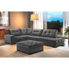 Sofa-5-Lugares-com-Chaise-Chumbo-Portland-1
