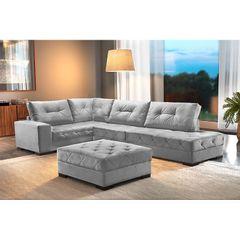 Sofa-5-Lugares-com-Chaise-Cinza-Portland-1