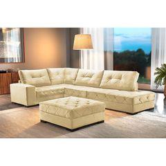 Sofa-5-Lugares-com-Chaise-Creme-Portland-1