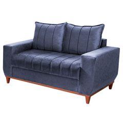 Sofa-2-Lugares-Azul-em-Veludo-150m-Esther