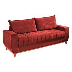 Sofa-3-Lugares-Vermelho-em-Veludo-2m-Esther