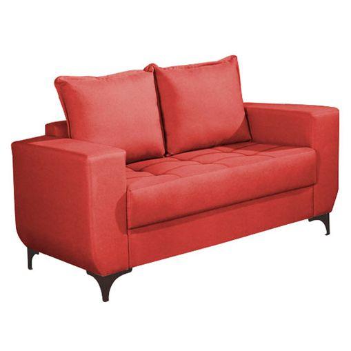 Sofa-2-Lugares-Vermelho-em-Veludo-150m-Jesse