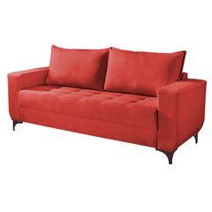 Sofa-3-Lugares-Vermelho-em-Veludo-2m-Jesse