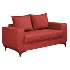 Sofa-2-Lugares-Vermelho-em-Veludo-150m-Enos