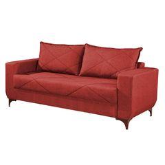 Sofa-3-Lugares-Vermelho-em-Veludo-2m-Enos