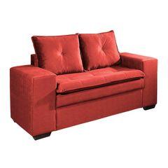 Sofa-2-Lugares-Vermelho-em-Veludo-160m-Lael