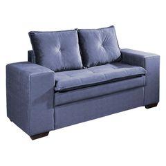 Sofa-2-Lugares-Azul-em-Veludo-160m-Lael