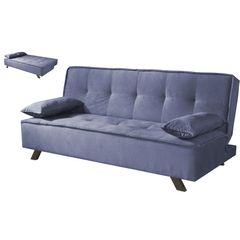 Sofa-Cama-3-Lugares-Azul-em-Veludo-190m-Sete