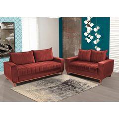 Sofa-3-Lugares-Vermelho-em-Veludo-2m-Esther-1