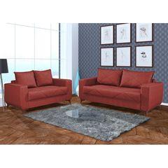 Sofa-2-Lugares-Vermelho-em-Veludo-150m-Enos-1