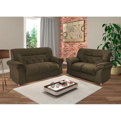 Sofa-2-Lugares-Marrom-Escuro-em-Veludo-154m-Tobias-1
