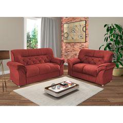 Sofa-2-Lugares-Vermelho-em-Veludo-154m-Tobias-1