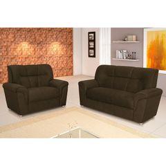 Sofa-3-Lugares-Marrom-Escuro-em-Veludo-193m-Calebe-1