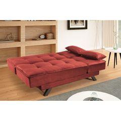 Sofa-Cama-3-Lugares-Vermelho-em-Veludo-190m-Ben-2
