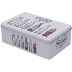 Lata-Decorativa-Coca-Cola-Retangular-20cm-Cinza-Evolution-Urban