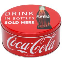 Lata-Decorativa-Coca-Cola-Redonda-17cm-Vermelha-Bottles-Urban