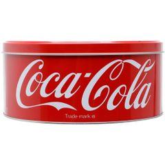 Lata-Decorativa-Coca-Cola-Redonda-17cm-Vermelha-Bottles-Urban-1