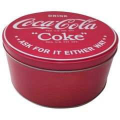 Lata-Decorativa-Coca-Cola-Redonda-17cm-Vermelha-Coke-Urban