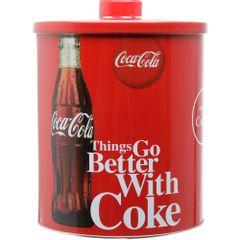 Lata-Decorativa-Coca-Cola-Redonda-18cm-Vermelha-Coke-Urban-1