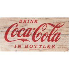 Placa-Decorativa-Coca-Cola-em-Madeira-30cm-Marrom-Drink-Urban