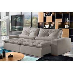 Sofa-Retratil-e-Reclinavel-4-Lugares-Cinza-em-Veludo-230m-Galahad-1