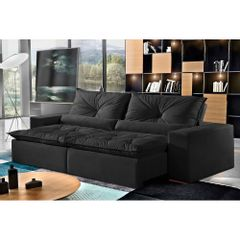 Sofa-Retratil-e-Reclinavel-4-Lugares-Preto-em-Suede-230m-Galahad-1