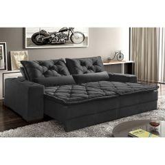 Sofa-Retratil-e-Reclinavel-4-Lugares-Preto-em-Suede-230m-Lancelot-1