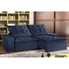 Sofa-Retratil-e-Reclinavel-5-Lugares-Azul-em-Veludo-290m-Lucan-1
