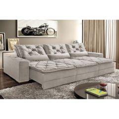 Sofa-Retratil-e-Reclinavel-5-Lugares-Cinza-em-Veludo-290m-Lancelot-Plus-1