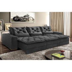 Sofa-Retratil-e-Reclinavel-5-Lugares-Preto-em-Suede-290m-Lancelot-Plus-1