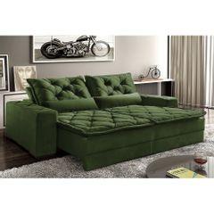 Sofa-Retratil-e-Reclinavel-5-Lugares-Verde-em-Veludo-290m-Lancelot-1