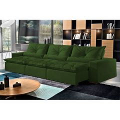 Sofa-Retratil-e-Reclinavel-5-Lugares-Verde-em-Veludo-320m-Galahad-1