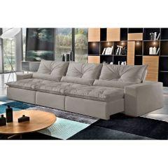 Sofa-Retratil-e-Reclinavel-6-Lugares-Cinza-em-Veludo-350m-Galahad-1