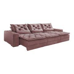 Sofa-Retratil-e-Reclinavel-6-Lugares-Rose-em-Veludo-Rajado-350m-Lancelot