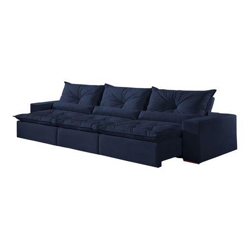 Sofa-Retratil-e-Reclinavel-7-Lugares-Azul-em-Veludo-410m-Galahad